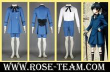 Sunshine-Black Butler Ciel Phantomhive 5th uniform Clothes Manga Amime Cosplay Costume halloween Christmas Party