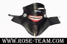 Sunshine-Tokyo Ghoul Kaneki Ken black devil mask cosplay costume halloween Christmas Party