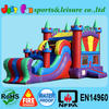 Module inflatable castle slide,inflatable jumping bouncer,inflatable bouncy castle