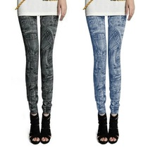 Women Fashion Jeggings Stretch Skinny Leggings Tights new model jeans for Lady 7928