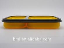 BPA free Rectangular Silicone Airtight container
