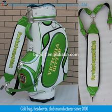 Leather Golf Bag Shoulder Strap