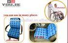 Air filling inflatable seat cushion for wheelchair cushion