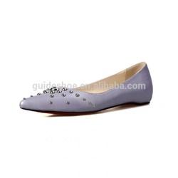 Comfortable Fashion lastest design lady shoe with insert heel
