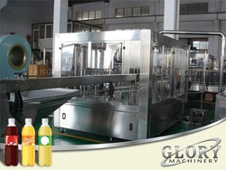 Automatic energy drink production line