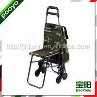folding shopping trolley cart rolling plastic shopping trolies