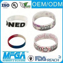 silicone luminous wristbands