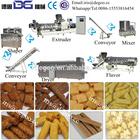 Ring /ball /stick/curls shapes corn puffed snacks processing machinery