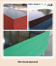Black/Brown Film Faced Plywood For Construction,Wood Construction Materials, Concrete Shuttering Plywood