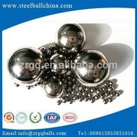 "Top quality big decorative carbon steel ball (11/16"",3/4"",7/8"",1"")"