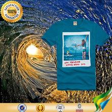 Großhandel bekleidung orange sport komprimieren 100 baumwolle stoff für t- shirt