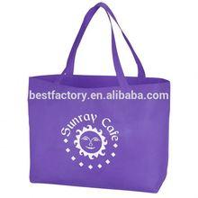 easy open non woven shopping tote bag