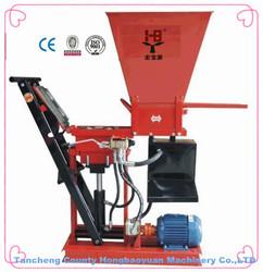 manual brick block paver machinery//cement and soil block making machinery product