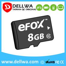 Taiwan full capacity 8gb 16gb 32gb 64gb memory card for sd card slot