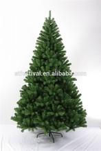 2015 hot selling pvc tips foldable christmas tree