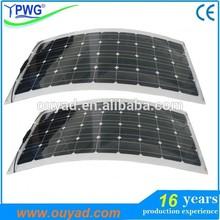 Newly High efficiency flexible solar panel 60W 100W 150W price factory directly
