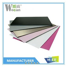 Colorful aluwecan pvdf acp cladding with best price