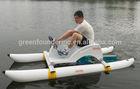 YAWA Inflatable Water Bikes Sea Bikes Fishing Boats Pedal Boat for sale