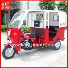 Guangzhou Manufacturer 150cc Petrol Passenger Tricycle Tuk Tuk / Indian Auto Rickshaw Moto Taxi