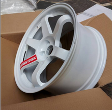 Japan racing wheels replica rims size 17*9 and 17*10 staggered set