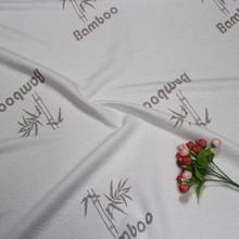 china latest polyester bamboo mattress fabric