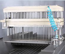 De acero inoxidable de pollo del inyector de la máquina / de inyección de solución salina salmuera inyector de la carne