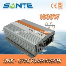 Small-size 1000W 12v 127v true sine wave clean utility power home solar system inverter