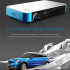 BEST NEW FULL HD Home video box game andriod bluetooth hologram mini cheap 1000ANSI projector / proyector/beamer