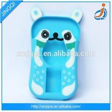 Custom design animal shaped silicone phone case
