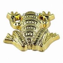 Funny Zinc Alloy Frog 3d metal lapel pins