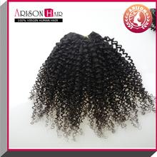 Factory Price New Arrival alibaba express virgin brazilian kinky curly hair,100% natural brazilian kinky curly virgin human ha