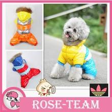 2015 Newest Pet Dog Winter Clothes Jacket Coat Clothing Super Warm 4 Color 6 Size XS XXL Dog Wholesale Down Parkar for dog