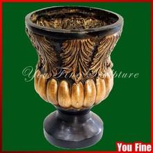 Garden Decorative Exquisite Bronze Flower Planter Pot