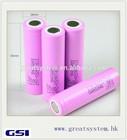 Huge stock! original ICR 18650-26FM 18650 2600mah li-ion battery for Samsung