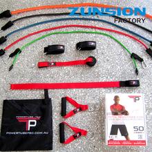 chin up bar+5 resistance bands+push up twister,home gym set, door gym set