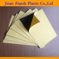 Black self adhesive film foam pvc sheets for photo