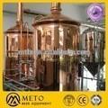 500 litros vermelho cobre bar de cerveja