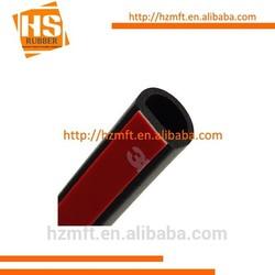 2015 newest design D shape adhesive rubber extrusion for automotive