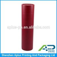 PU round box, PU wrapped paper box, PU wrapped cylinder packaging box