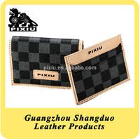 Alibaba China New Fashion Leather Handmade Card Purse Series
