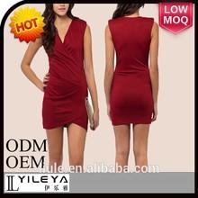 australia label clothes wine red knit dresses new fashion 2015