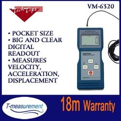 VM6320 portable vibration meter, vibration test equipment