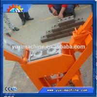Cost-effective!!! No need to use electric power hydraform interlocking block making machine
