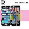 De la PU de epoxy de la piel para el iPhone 5S, Cúpula de la piel para el iPhone 5S
