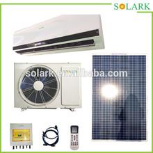 100% solar air conditionercomplete system ,DC inverter 48V, 24000BTU