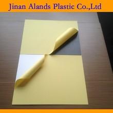 PVC sheet for album/photo white/black