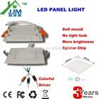 CE square led panel light 4w slim led panel light, thin led panel light