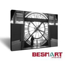Huge Clock Canvas Art printing /Digital printed canvas Wall Art / Print photo onto canvas