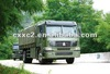 SINOTRUK HOWO 4X4 cargo truck Military Vehicle / Army vehicle