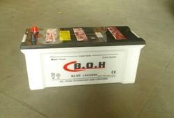 High performance 12V150AH 12v dry cell car battery